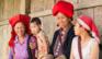 rød dao kvinder i Sapa Vietnam