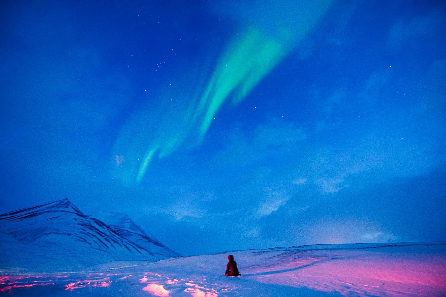 Imponerende nordlys