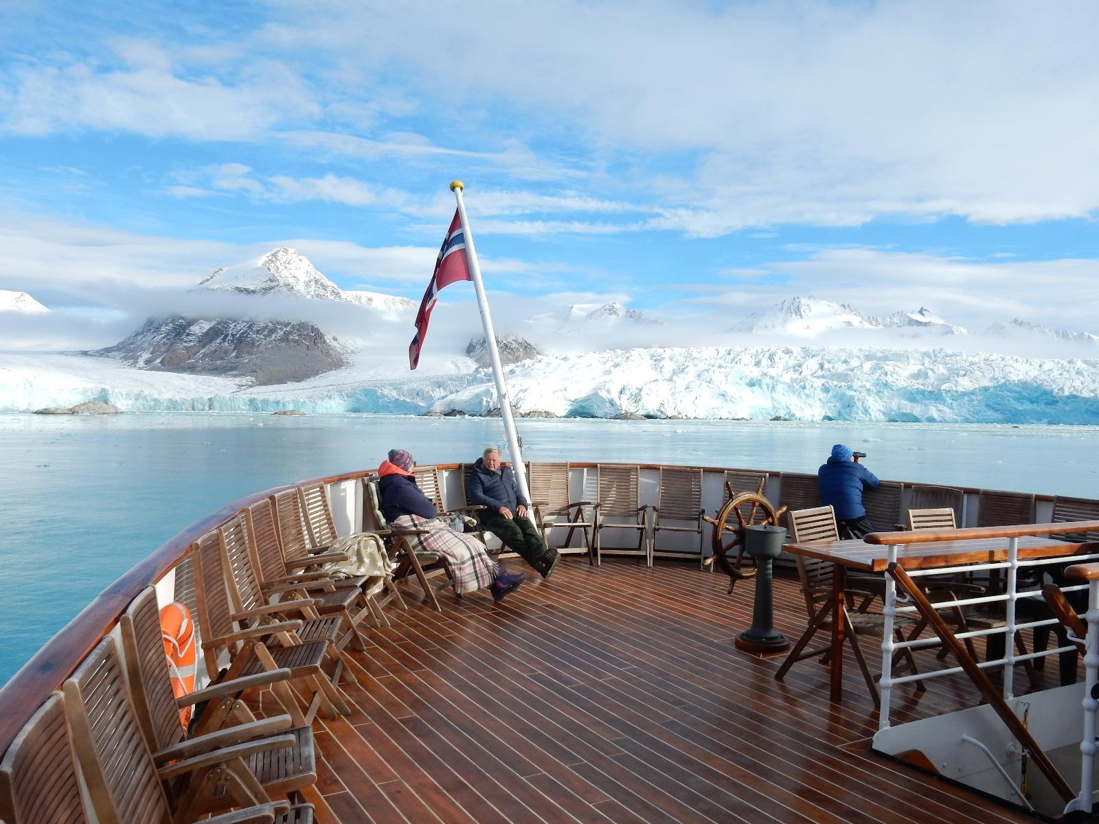 Krydstogt til Svalbard og nordlys