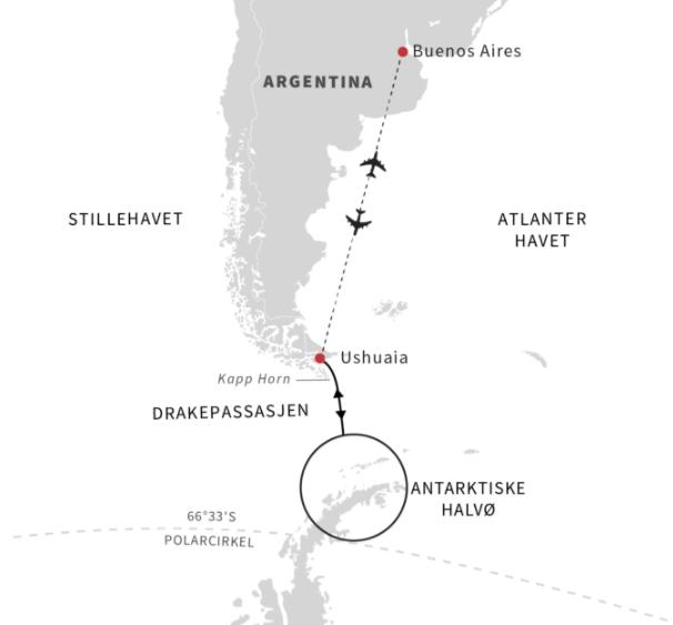 Antarktis i 2020 og 2021 - Ruby Rejser