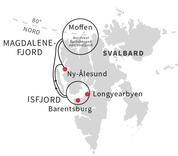 Svalbard med Ruby Rejser