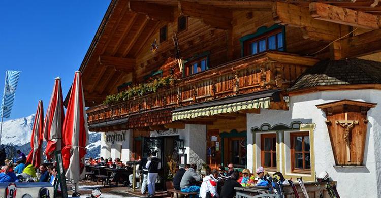 Skihyge i Østrig