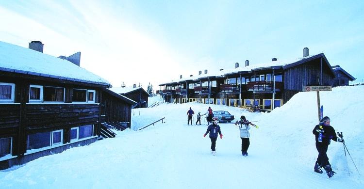 Klar til ski på Hafjell