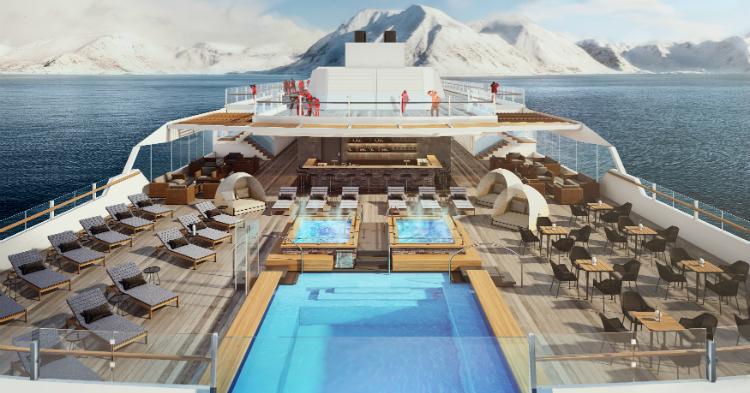 Kahytter på Roald Amundsen - Ruby Rejser