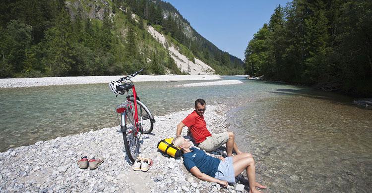 Tyskland: Cykling og afslapning