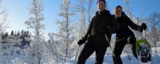 Snesko - Hurtigruten - Ruby Rejser