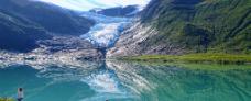 Svartisen gletsjer af Wolfgang kriegel - Hurtigruten - Ruby Rejser