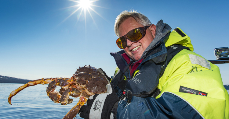 Kongekrabbe safari i Kirkenes - Ruby Rejser