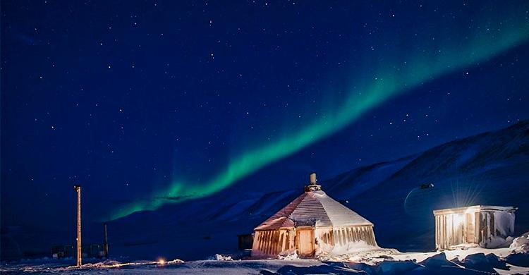 Svalbard Nordlys