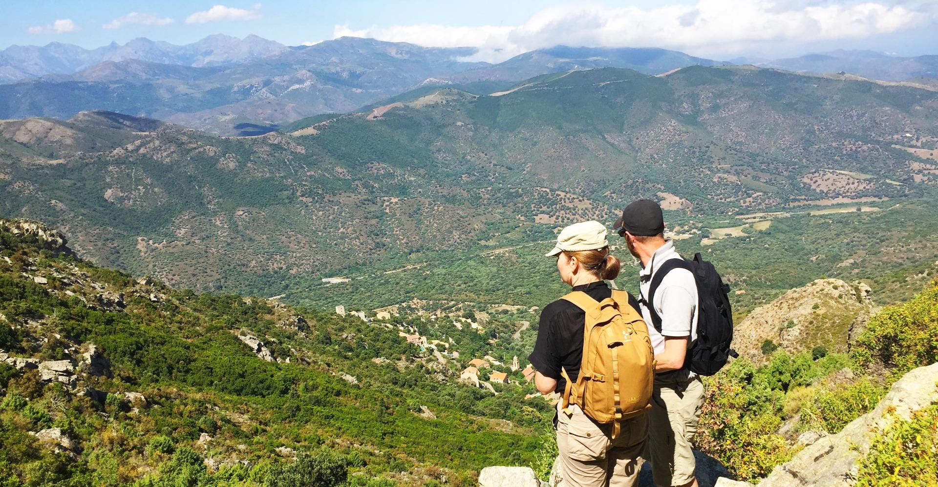 Bjerge Korsika, natur