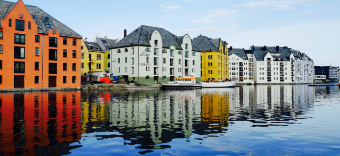 Ålesund byvandring - Hurtigruten - Ruby Rejser
