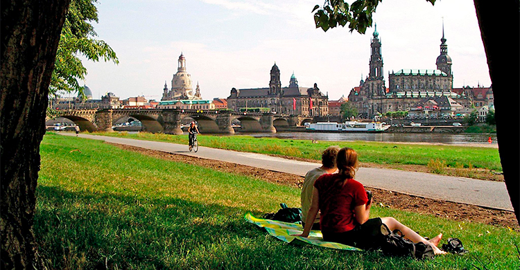 Den gamle bydel i Dresden