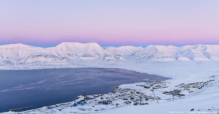 Udsigt Svalbard