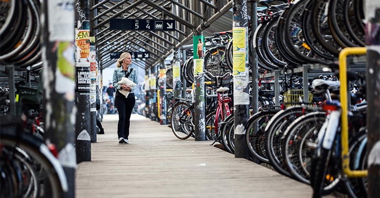 Cykelparkering i Aarhus