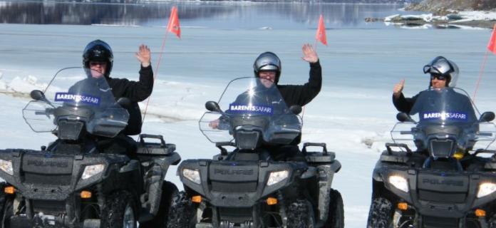 7E ATV safari til den russiske grænse - Ruby Rejser