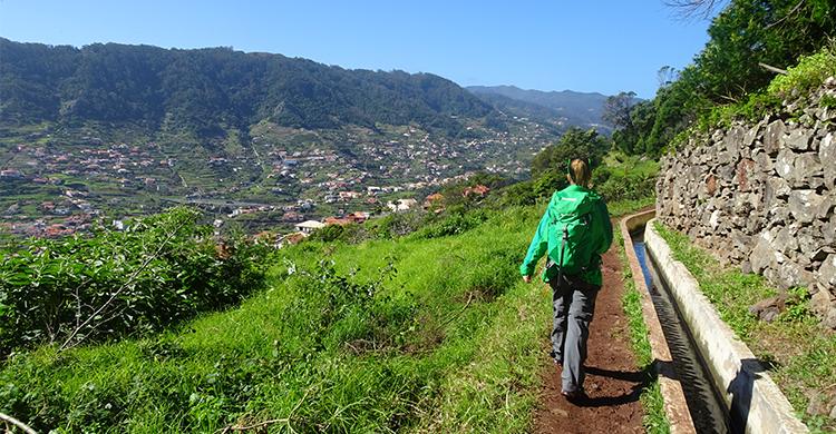 Vandrer på Madeira