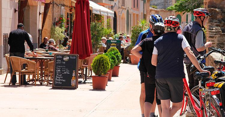 Cyklister på Mallorca