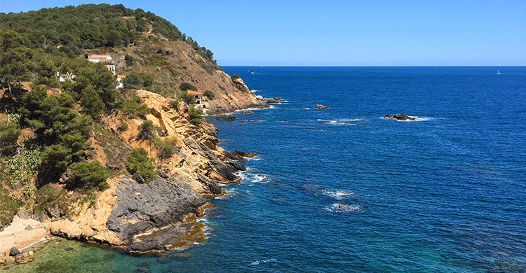 Cataloniens smukke kyst