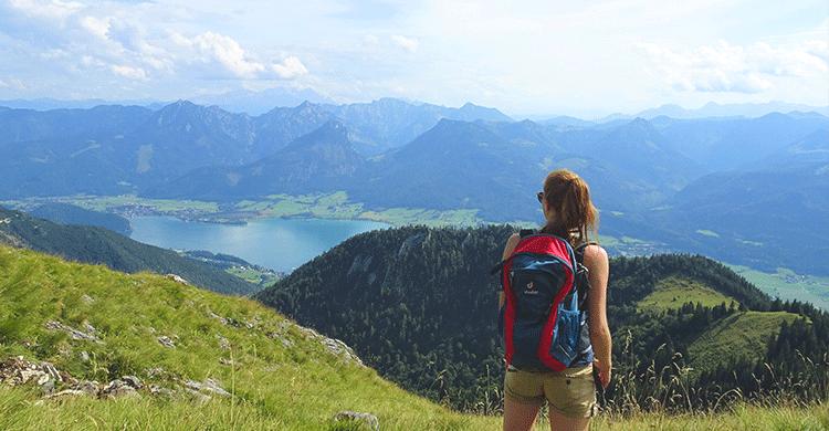 Udsigt over østrigsk landskab
