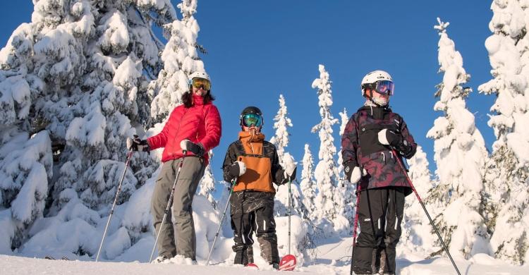 Ski med familien i Trysil