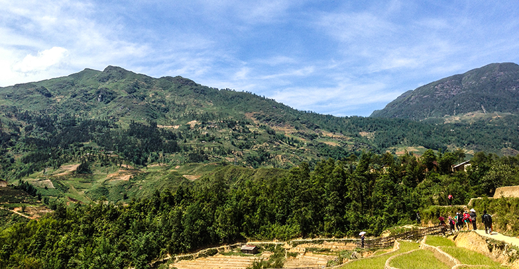 Bjerge i Vietnam