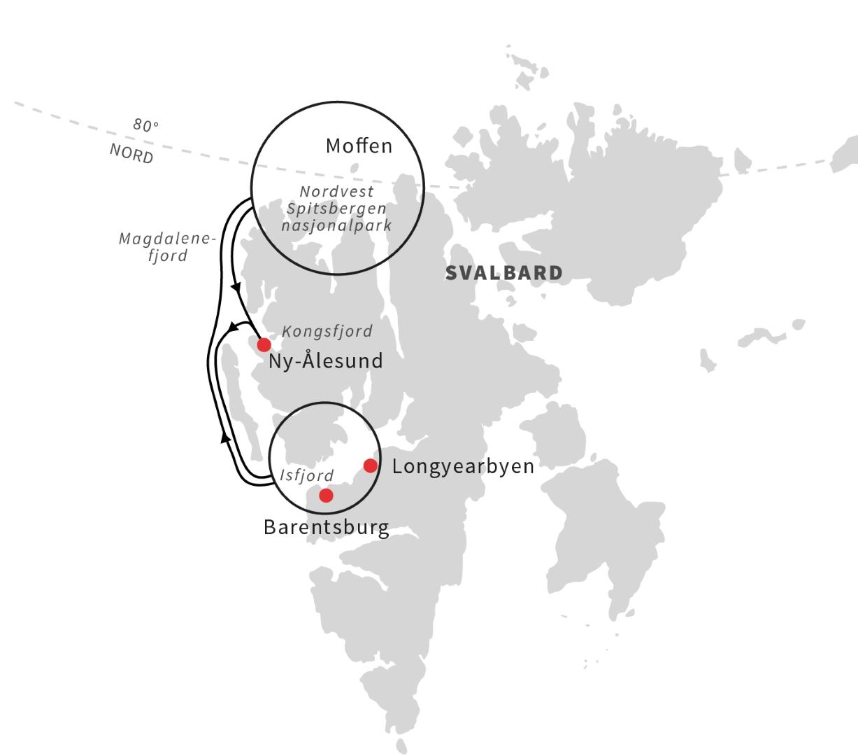 Svalbard med Nordstjernen - mandag til Lørdag - Ruby Rejser