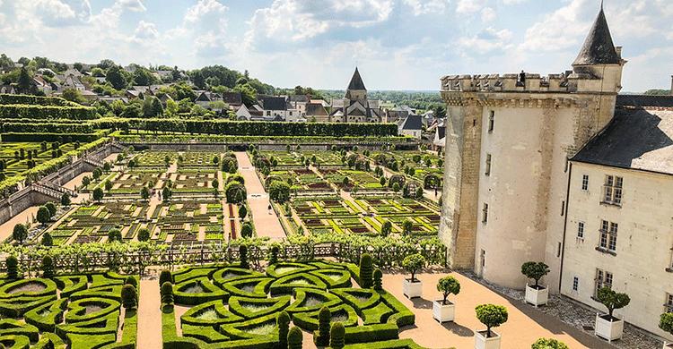 Chateau i Frankrig