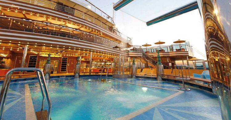 Pool på krydstogtskib