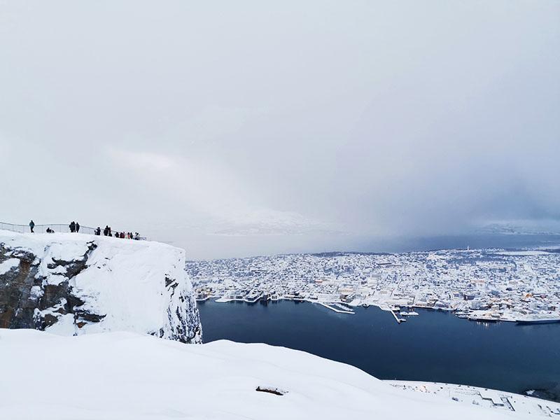 Storsteinen udsigtspunkt, Tromsø