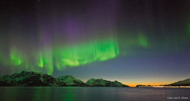 Top 3 steder at opleve nordlyset
