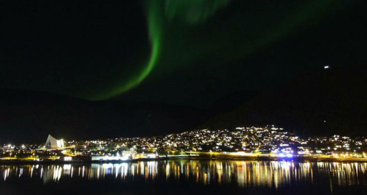 Nordlys over Tromsø