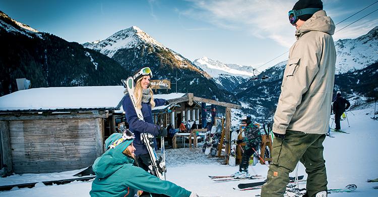 På ski i Østrig