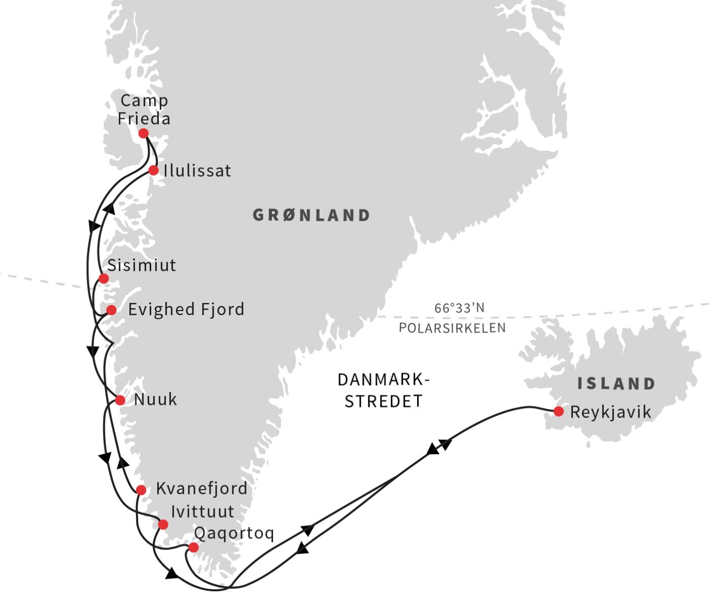 Island og Grønlands vestkyst - Ruby Rejser