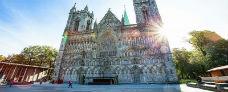 Trondheim med Nidarosdomen med Hurtigruten - Ruby rejser