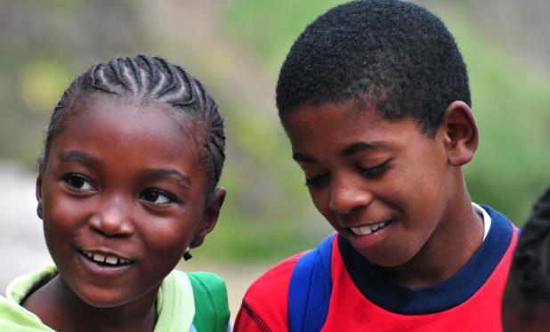 Børn på Kap Verde