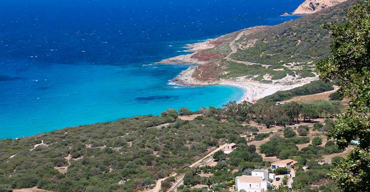 Udsigt over Korsika