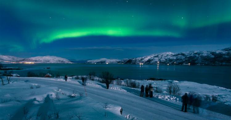 Jagt nordlyset på Tromsø