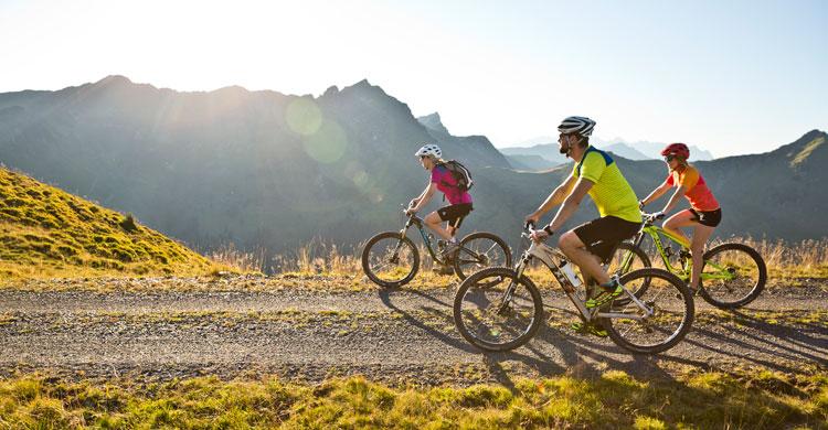 Cyklister i Østrig