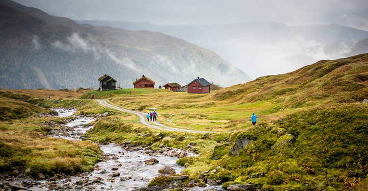 Vandreferie i Norge