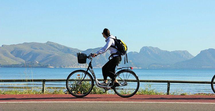 Cyklister i Spanien
