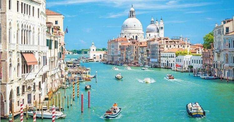 Kanal i Venedig