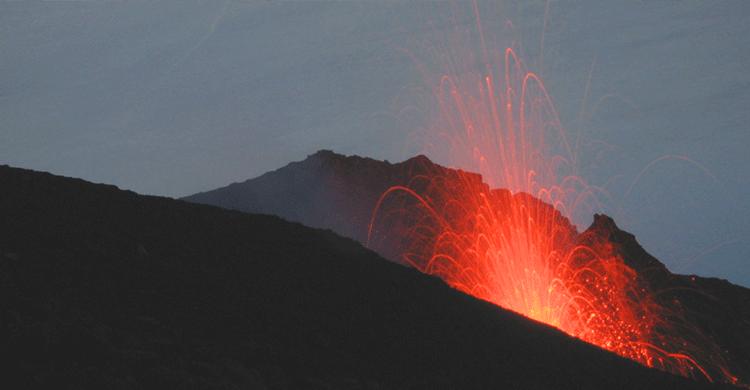 Vulkan på De Lipariske Øer