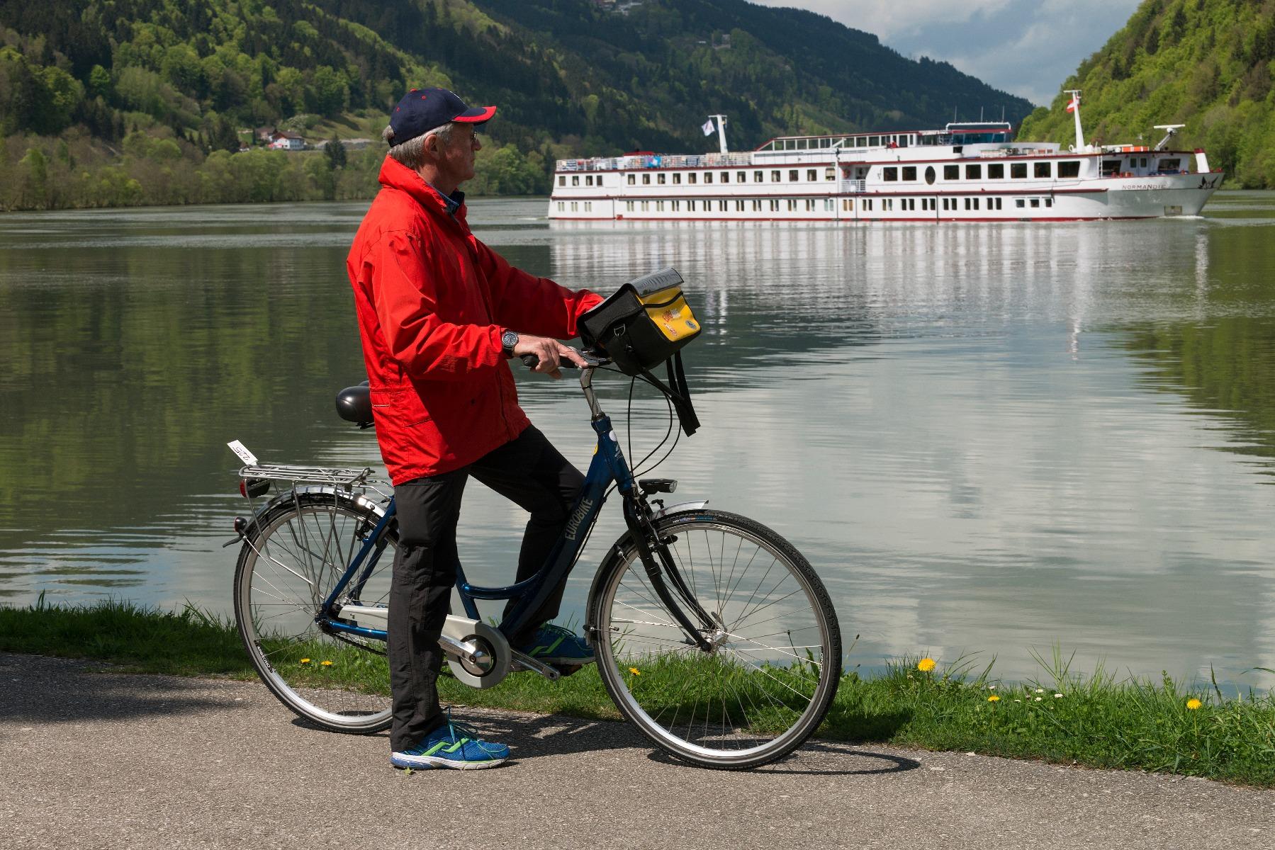 Cykelkrydstogt, Donau