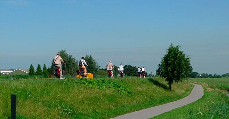 Cyklister i Belgien