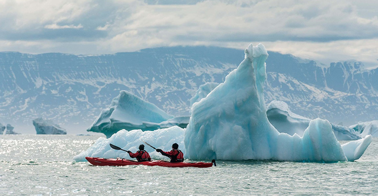 Aktive ferier på Grønland