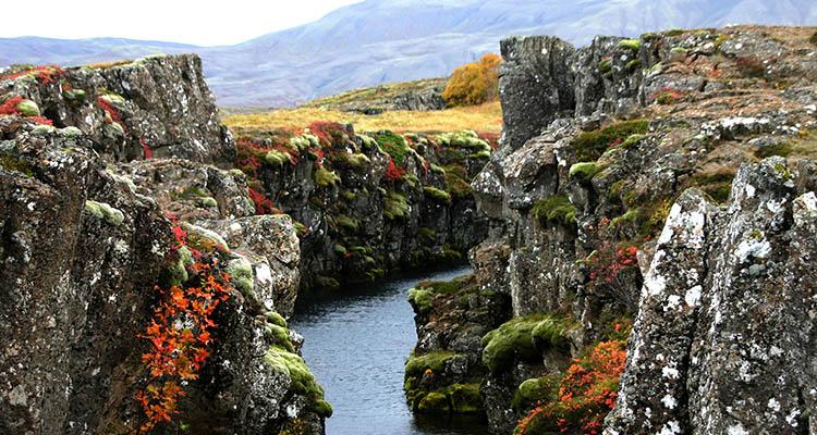 Magmamarker i Thingvellir Nationalpark