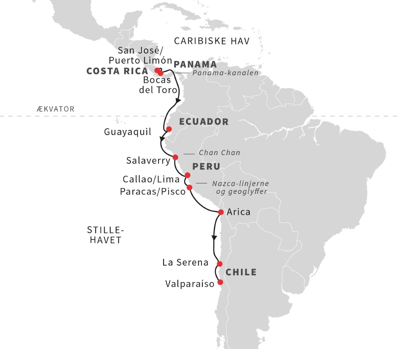 Sydamerikas Vestkyst