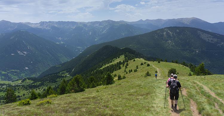 Vandrere i Andorra