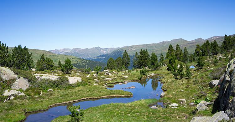Vandløb i Andorras bjerge