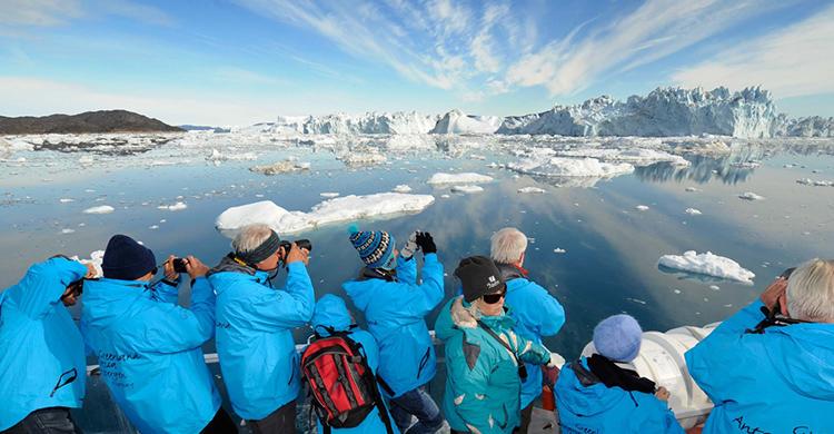 Udsigt over Isfjorden